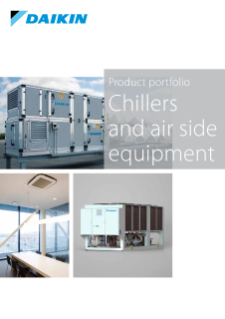 401 - Chillers and air side equipment_Product portfolio